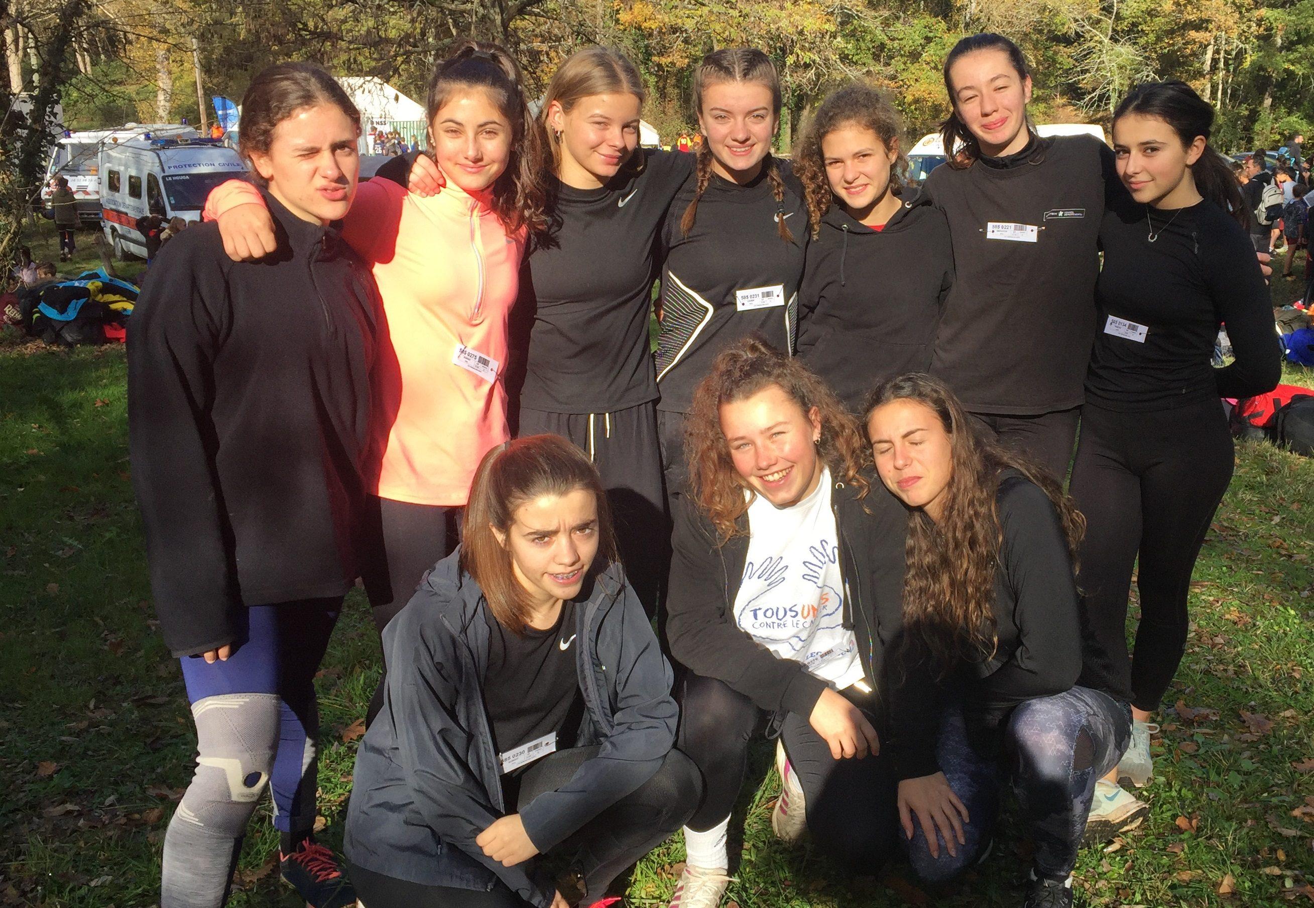 L'équipe filles